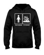 MY HUSBAND Hooded Sweatshirt front