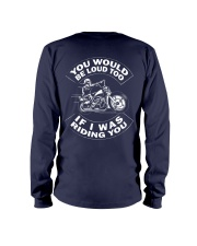I WAS RIDING YOU Long Sleeve Tee thumbnail
