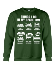 MY SPARE TIME Crewneck Sweatshirt thumbnail