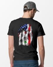 BIKER FLAG Classic T-Shirt lifestyle-mens-crewneck-back-6