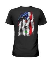 BIKER FLAG Ladies T-Shirt thumbnail