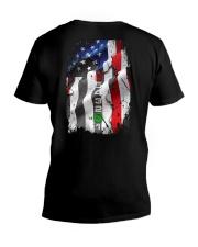 BIKER FLAG V-Neck T-Shirt thumbnail