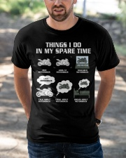 MY SPARE TIME Classic T-Shirt apparel-classic-tshirt-lifestyle-front-50