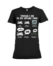 MY SPARE TIME Premium Fit Ladies Tee thumbnail