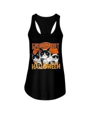 Grumpy Halloween Ladies Flowy Tank thumbnail