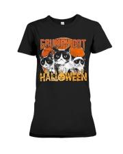 Grumpy Halloween Premium Fit Ladies Tee thumbnail