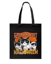 Grumpy Halloween Tote Bag thumbnail