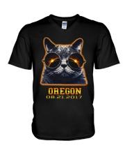 Grumpy Solar Oregon V-Neck T-Shirt thumbnail
