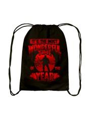 Jason It's the Most Wonderful Drawstring Bag back
