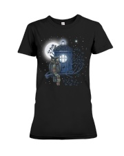 Owl Doctor Who Premium Fit Ladies Tee tile