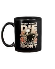 Jason I Dont Always Die Mug back