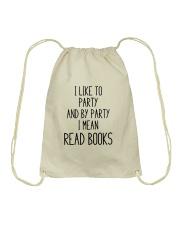 Read Books Drawstring Bag thumbnail