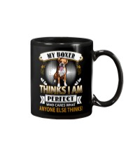 Boxer Thinks Mug thumbnail