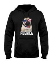 Pug Proud 0506 Hooded Sweatshirt thumbnail