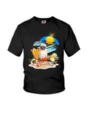 Pug Beach 2405 Youth T-Shirt thumbnail
