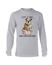 Bulldog Loves Girl 0204 Long Sleeve Tee thumbnail