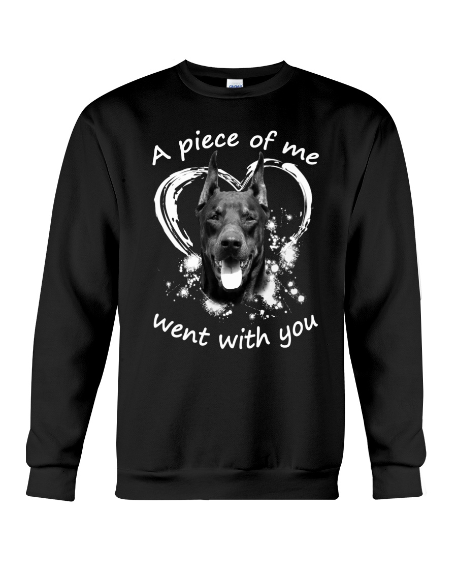 Doberman Pinscher My Piece Crewneck Sweatshirt