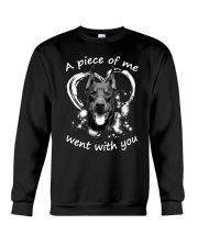 Doberman Pinscher My Piece Crewneck Sweatshirt front