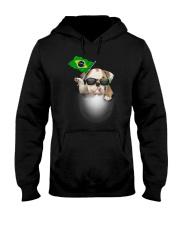 Bulldog BZ 3105 Hooded Sweatshirt thumbnail