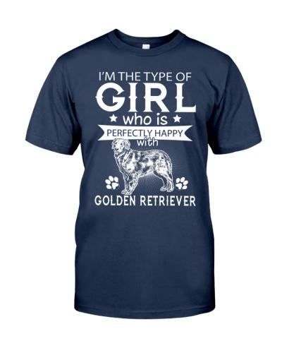 Golden Retriever Perfect Girl