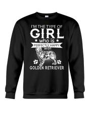 Golden Retriever Perfect Girl Crewneck Sweatshirt thumbnail
