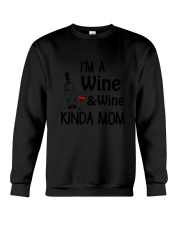 Wine Kinda Mom 2304 Crewneck Sweatshirt thumbnail