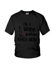 Wine Kinda Mom 2304 Youth T-Shirt thumbnail