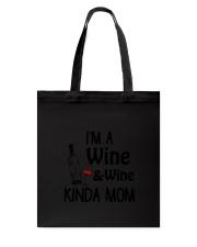 Wine Kinda Mom 2304 Tote Bag thumbnail