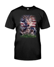 Wolf USA Proud 0206 Classic T-Shirt front