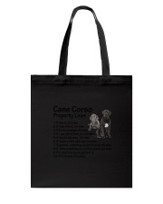 Cane Corso Property Laws 0806 Tote Bag tile