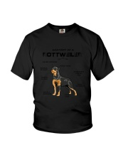 Rottweiler Anatomy 2505 Youth T-Shirt thumbnail