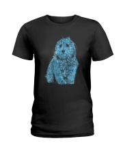 Coton de Tulear Bling 1303 Ladies T-Shirt thumbnail