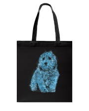 Coton de Tulear Bling 1303 Tote Bag tile