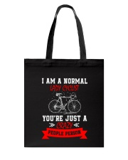 Lady Cyclist 2304 Tote Bag thumbnail