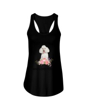 Poodle Love Woman 2104 Ladies Flowy Tank thumbnail