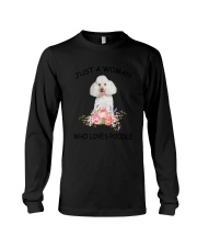 Poodle Love Woman 2104 Long Sleeve Tee thumbnail