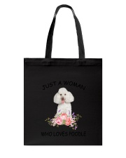 Poodle Love Woman 2104 Tote Bag thumbnail