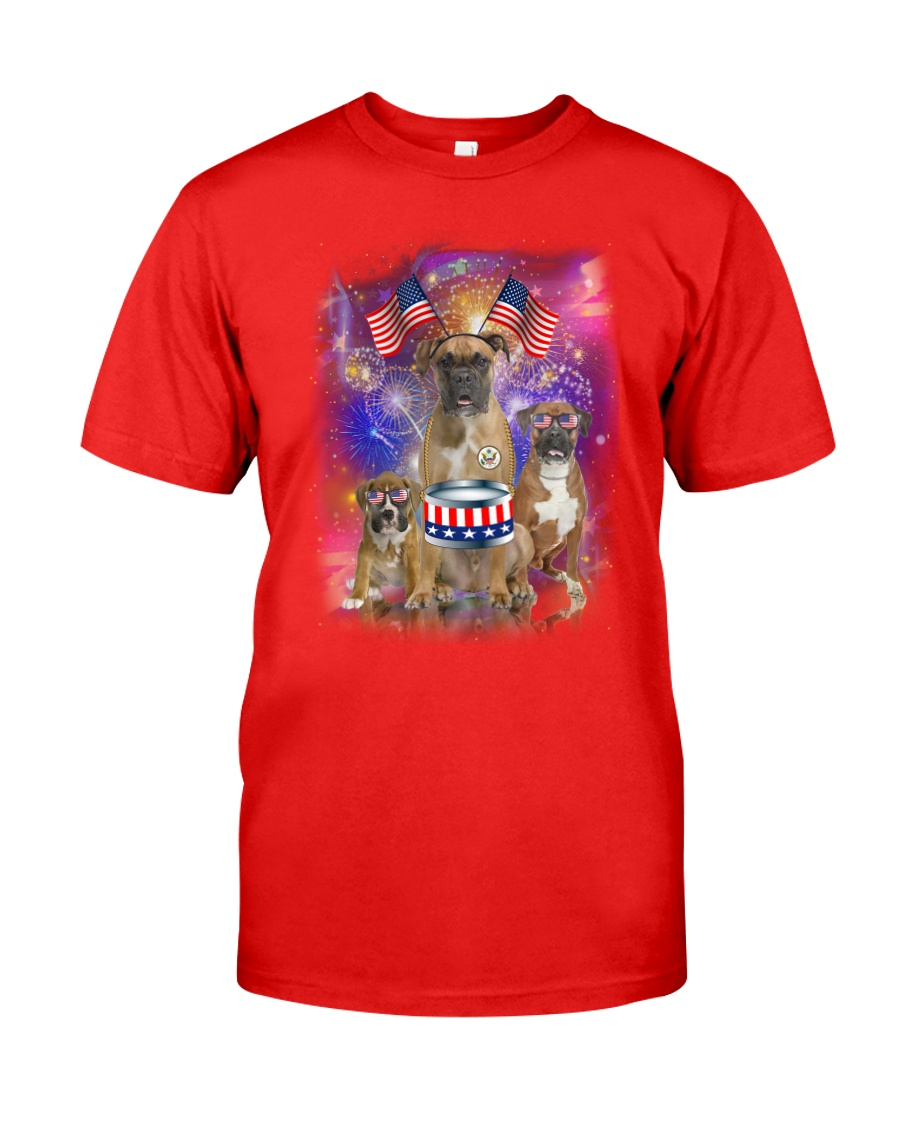 Boxer Independence 0706 Classic T-Shirt
