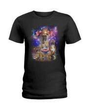 Boxer Independence 0706 Ladies T-Shirt thumbnail