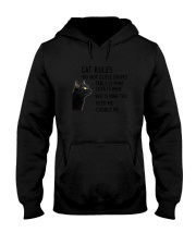 Cat Rules 2305 Hooded Sweatshirt thumbnail