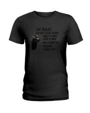 Cat Rules 2305 Ladies T-Shirt thumbnail