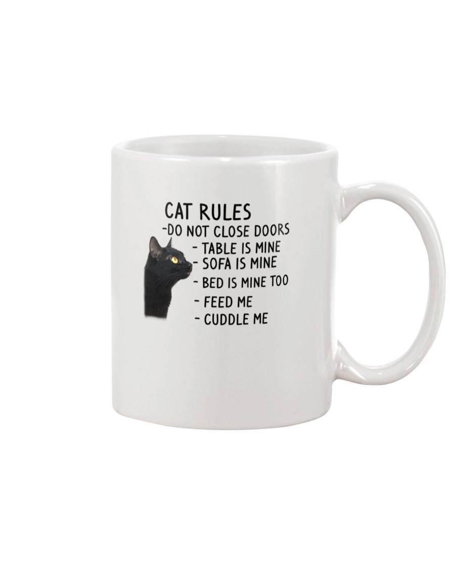 Cat Rules 2305 Mug