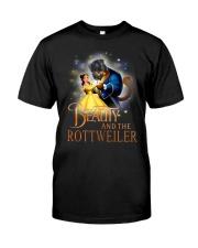 Rottweiler Beauty Classic T-Shirt front