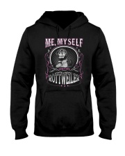 Rottweiler Me Hooded Sweatshirt tile