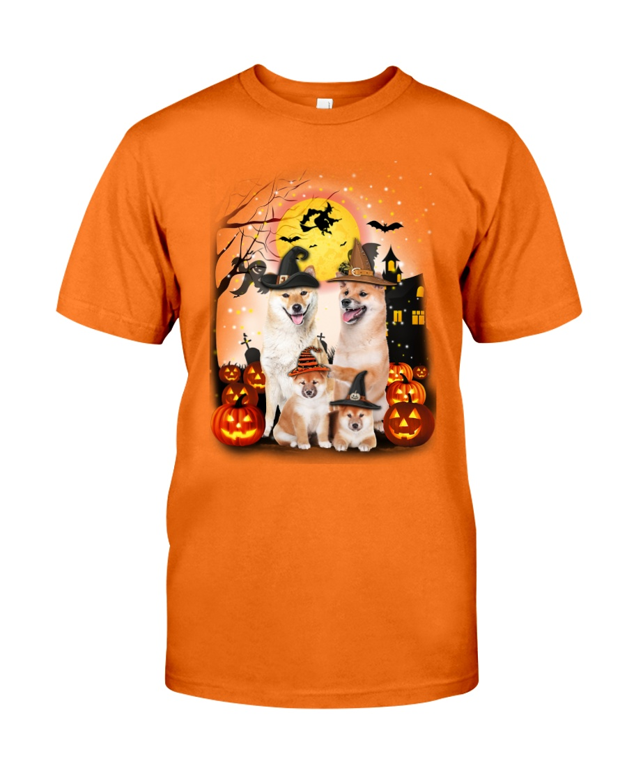 Shiba Inu Halloween - 2508 - A28 Classic T-Shirt