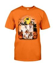 Shiba Inu Halloween - 2508 - A28 Classic T-Shirt front