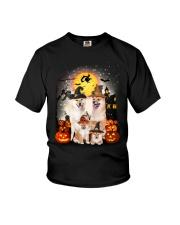 Shiba Inu Halloween - 2508 - A28 Youth T-Shirt thumbnail