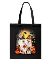 Shiba Inu Halloween - 2508 - A28 Tote Bag thumbnail