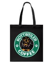 Rottweiler Coffee Tote Bag thumbnail