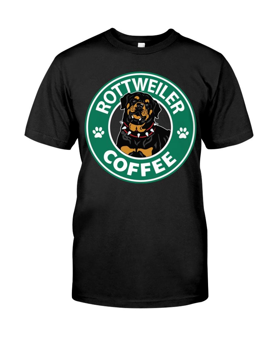 Rottweiler Coffee Classic T-Shirt